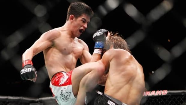 Mixed martial arts was previously technically illegal, because it involves fighting with something other than the hands.