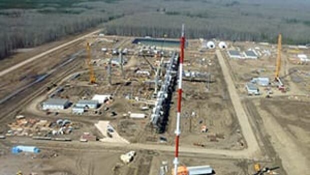 Encana operates this natural gas plant in the Horn River area of northern B.C.