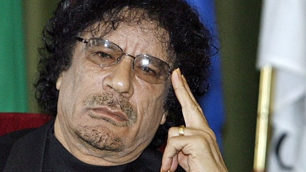 Deposed Libyan leader Moammar Gadhafi's whereabouts are unknown.