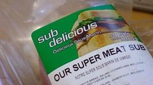 Subdelicious sandwich