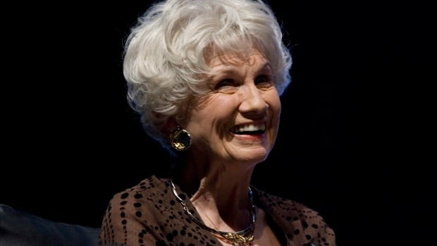 Alice Munro attends the opening night of the International Festival of Authors in Toronto on Oct. 21, 2009.