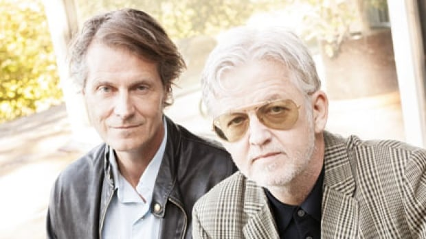 Jim Cuddy, left, and Greg Keelor will join Alan Neal on stage Oct. 24 at 7 p.m. at the Knox Presbyterian Church as part of Ottawa International Writersfest.