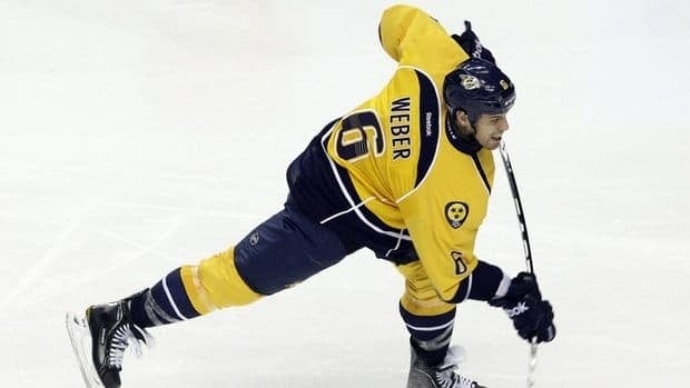 Predators defenceman Shea Weber was injured Dec. 23 when Stars defenceman Mark Fistric caught him with an elbow or forearm to the head.