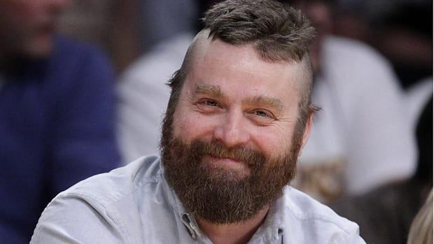 Actor Zach Galifianakis has won four Webby Awards for his Funnyordie.com series Between Two Ferns.