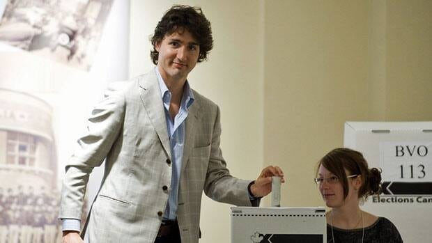 Liberal MP Justin Trudeau casts his vote in Canada's federal election in Montreal, May 2, 2011. Trudeau says he's offended that Conservative MP Dean Del Mastro is questioning his commitment to his Catholic faith.