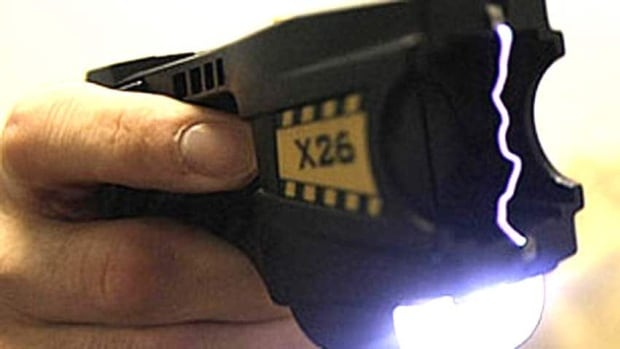 The province recently re-wrote the guidelines governing the use of stun guns by local police forces allowing front-line officers to be armed with conductive energy weapons.