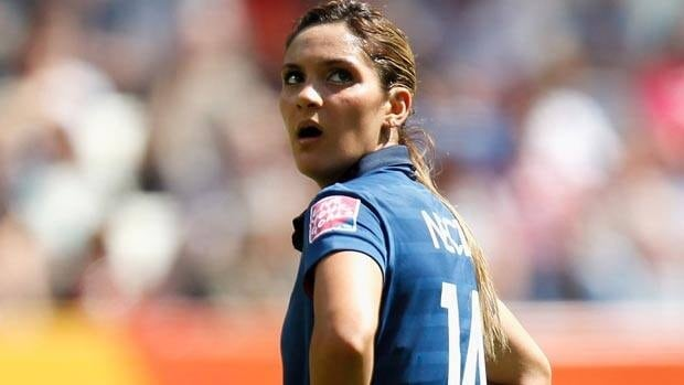 French playmaker Louisa Necib has been one of the outstanding players of the tournament thus far.