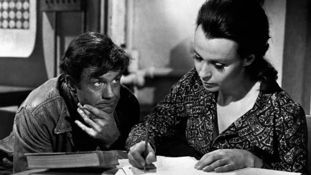 Cliff Robertson portrays a mentally retarded man who falls in love with his teacher, played by Claire Bloom, after brain surgery raises him temporarily to genius level in the ABC TV version of Charly. He would later win an Oscar in 1968 when he played the role in a feature movie. (Associated Press file photo)