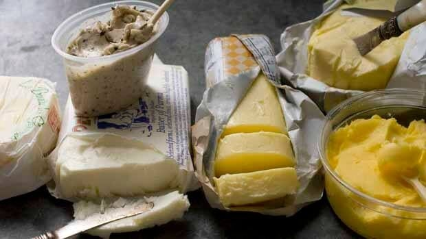 The new tax will be applied to foods such as butter and cheese.