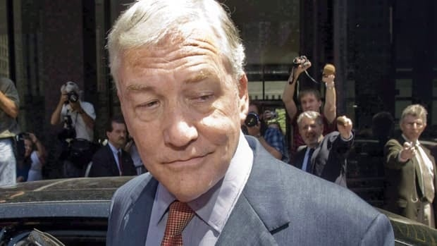 Conrad Black is due to report to prison on Sept. 6.