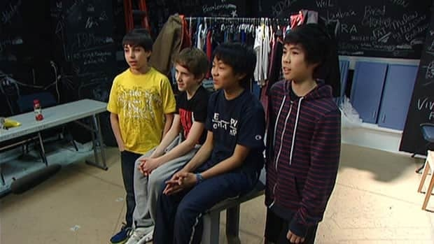 The four lead dancers from the hit musical Billy Elliot shared their experiences growing up as boys in ballet.