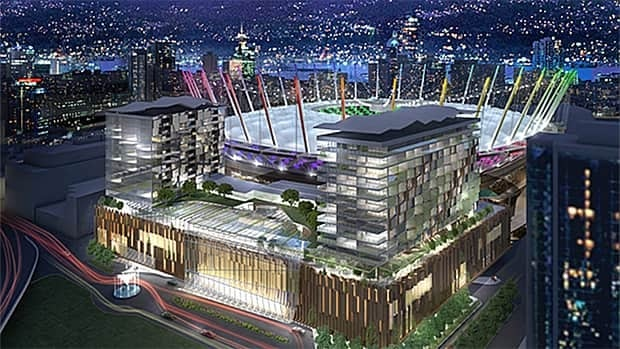 Vancouver city council voted against rezoning for the Edgewater Casino expansion proposal on Tuesday.