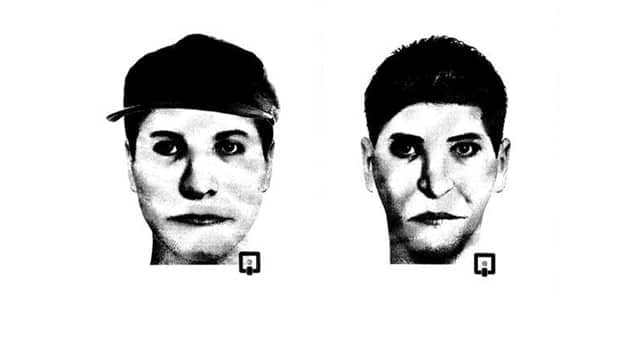 Loon Lake RCMP released these composite sketches of a possible suspect in a a break-and-enter and assault at an apartment complex on Oct. 24.