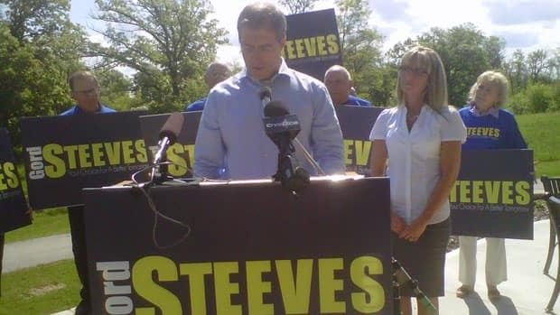 Gord Steeves announces in June that he would seek the provincial PC nomination in Seine River. After failing to win the seat in the Oct. 4 election, Steeves said he is considering his options.