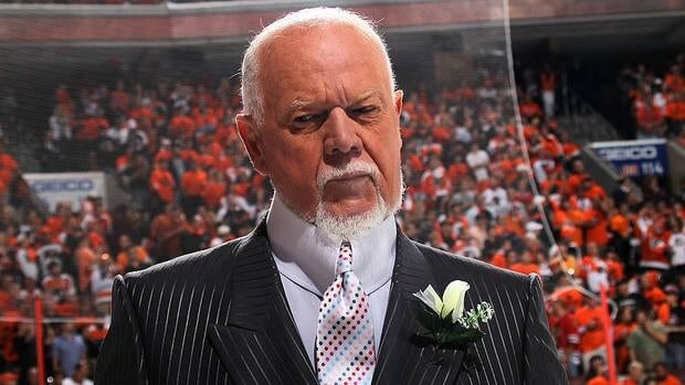 Don Cherry has received criticism for statements made on the regular season debut of Hockey Night in Canada.