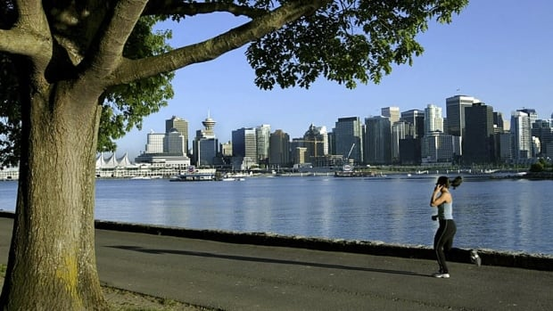 Stanley Park, with its views of the city, is one of the most popular tourist destinations in Vancouver.
