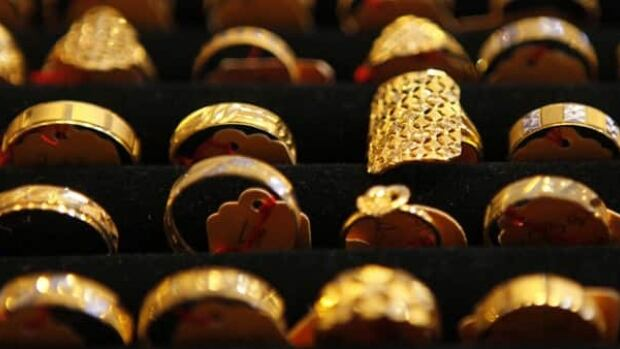 The cost of five gold rings declined slightly this year, but the overall cost to buy everything in the 12 day of Christmas topped $100,000 US this year, according to PNC Wealth Management.