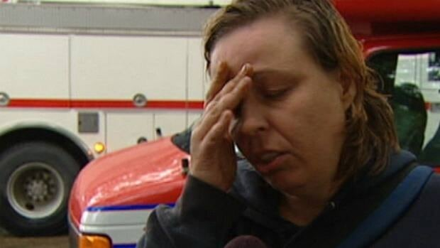 Edmonton homeowner Jennifer Gable smelled gas before an explosion which knocked down two firefighters Tuesday morning.