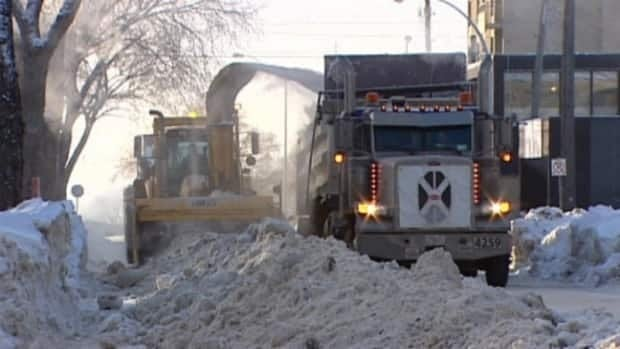 Edmonton city councillors are grappling with a snow removal policy.