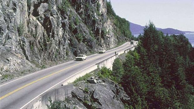 When the Sea-to-Sky Highway opened in 1966 the twisting two-lane route cut through several cliff faces on the edge of Howe Sound without barriers to stop vehicles from plunging over the edge.