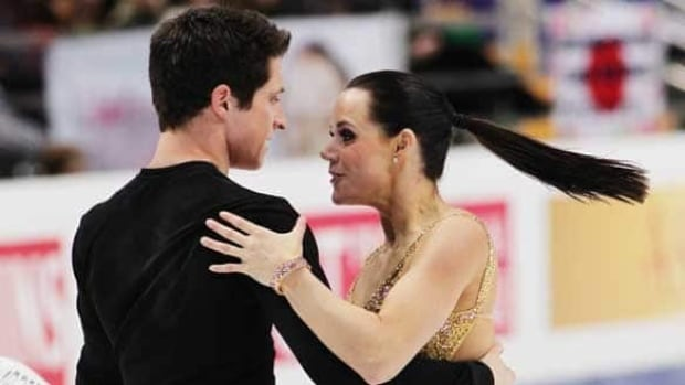 Tessa Virtue, right, and Scott Moir won silver at the world championships last spring in Moscow.