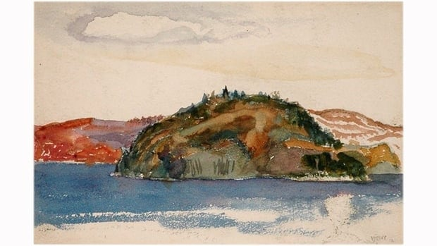 Gatineau Hills, by Group of Seven painter Frederick Varley, was stolen from a Toronto gallery on July 10, 2011. The watercolour is valued at $15,000.