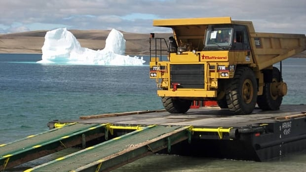 The federal government has given Baffinland the go-ahead to dig iron ore out of its Mary River deposit on north Baffin Island and ship it to market through Milne Inlet on the eastern coast of Baffin Island.