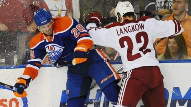 Oilers centre Eric Belanger converted on 55.3 per cent of the 1,297 faceoffs he took last season.