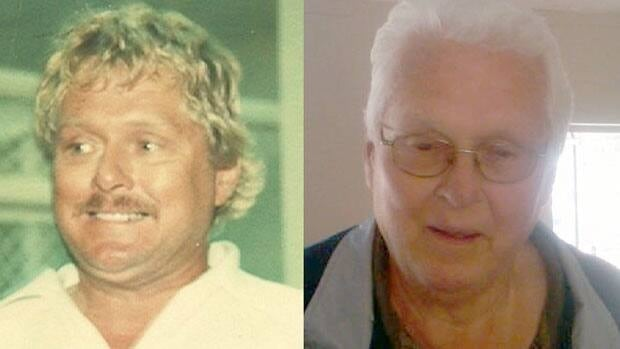Jack MacDonald in 1980 and at the time of his arrest in 2011.