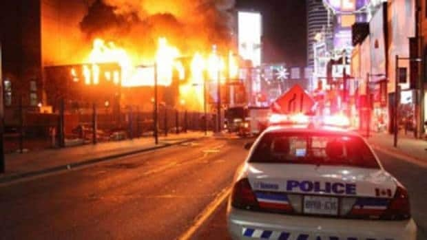Toronto's former Empress hotel, which was destroyed by arson in January, was chosen as one of the worst losses of 2011 by The Heritage Canada Foundation.