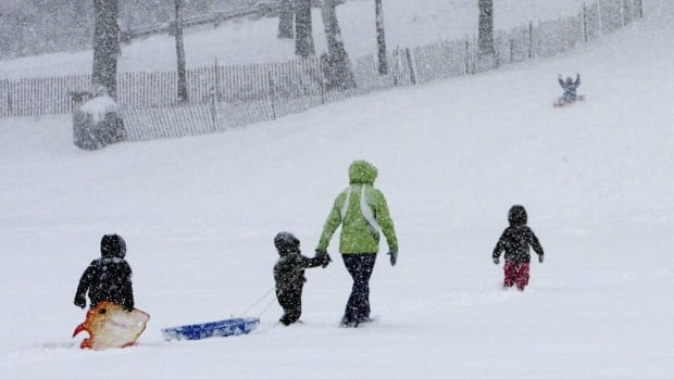 More messy weather is expected on Canada's East Coast.