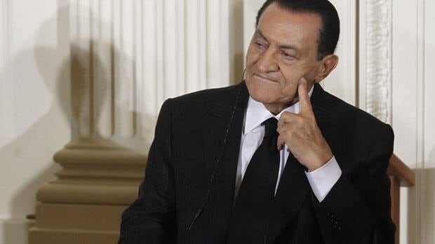Former Egyptian President Hosni Mubarak may have stomach cancer according to his lawyer.