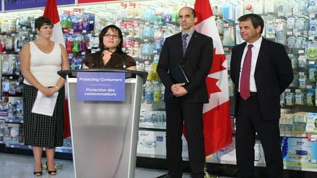 Minister of Health Leona Aglukkaq introduces the new Canadian Consumer Product Safety Act in June. The act gives Health Canada greater authority over product recalls.