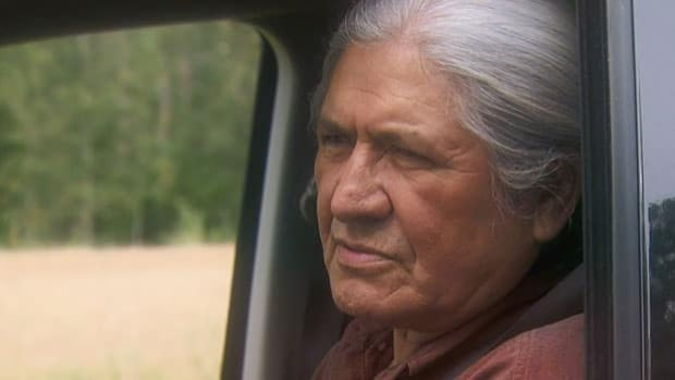 A publicity image of actor Gordon Tootoosis from one of his film projects.