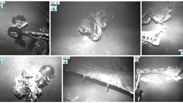 robot sub shows air france crash debris bodies world cbc news. Black Bedroom Furniture Sets. Home Design Ideas