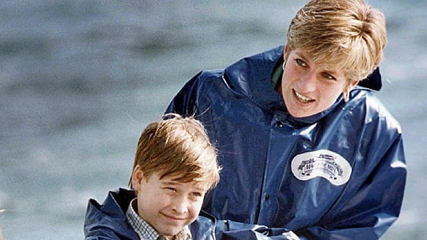 Diana, Princess of Wales, enjoys a ride on the Maid of Mist in Niagara Falls, Ont., in this October 1991 photo, with Prince William, then nine. Seven-year-old Prince Harry was also along for the ride.