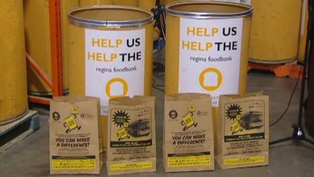 The Regina & District Food Bank is taking part in the 25th annual Great Canadian Food Fight in an effort to collect 250 tonnes of food in 48 hours. CBC