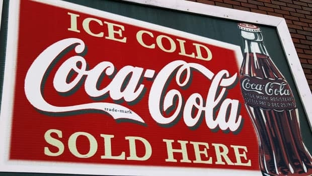 A restored Coca-Cola sign is displayed on a building along Old Route 66 Monday in Springfield, Ill.