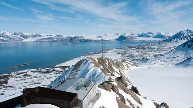 The researchers based their study on measurements of POPs taken in Svalbard, Norway (above), and Alert, Canada, between 1993 and 2009.