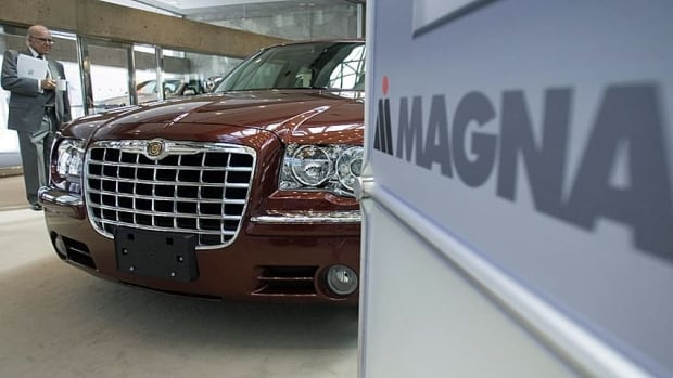 Magna net income rose to $510 million during the quarter, up from $415 million in the same period a year ago
