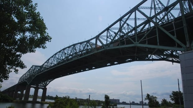 The government has pledged $165 million in the budget towards replacing the Champlain Bridge in Montreal.