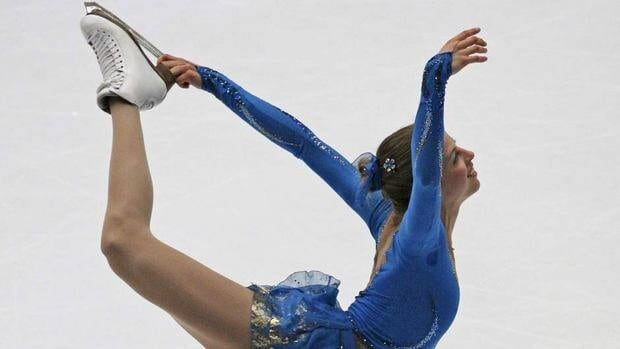 Italy's Carolina Kostner skates to the gold medal in the women's free skating competition at the Cup of China on Saturday night in Shanghai.