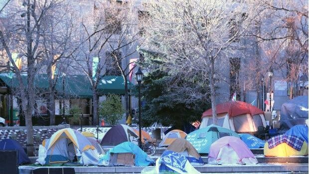 Although no timeline has been given, Calgary city council has voted to remove the Occupy Calgary protest tents set up in Olympic Plaza.