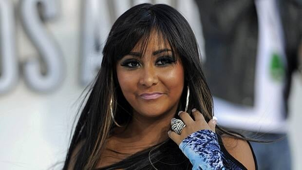 Jersey Shore characters like Snookie, played by Nicole Polizzi, give the false impression that a tanned look is healthy.