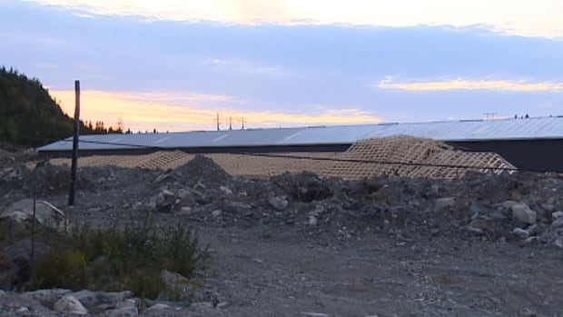 A man was injured after a building under construction collapsed in Conception Bay North.