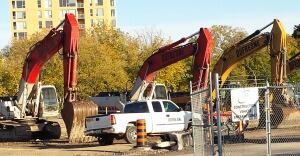LRT tunnel construction machines (Oct. 11, 2013)