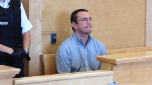 Donnie Snook in a Corner Brook courtroom on Aug. 20, 2013