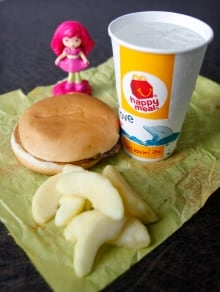 McDonald's offers apple slices instead of fries