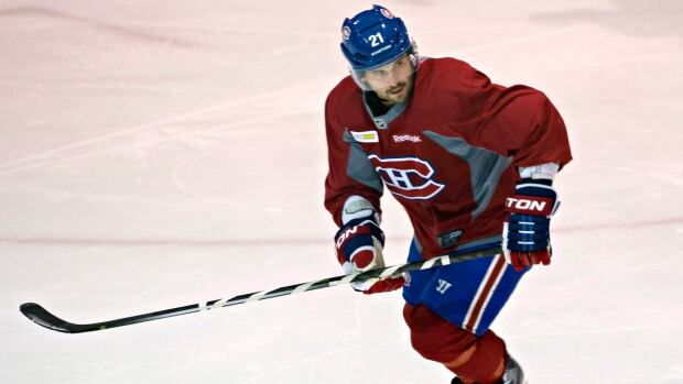 Montreal Canadiens captain Brian Gionta has one goal and one assist in four games