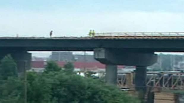 Construction of the Mile House Interchange in Saint John is way over budget.